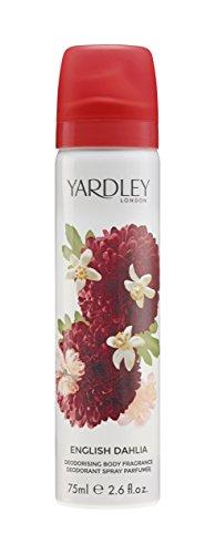 Yardley London English Dahlia Spray pour le corps 75 ml