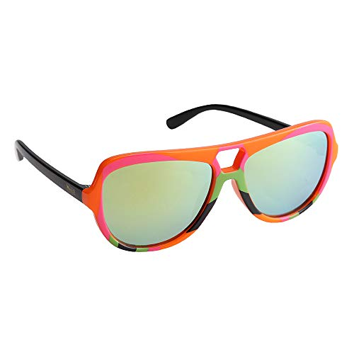 Sun-Staches Officially Licensed WWE Ultimate Warrior Shades Costume Party Favor Arkaid Sunglasses UV400, One Size