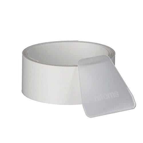 ニトムズ クリストロン 多用途クリア補修テープ 目立たない 簡単修理 強力防水 幅30mm×長さ2m×厚さ約0.18mm へら付き 1巻入 透明 M5356
