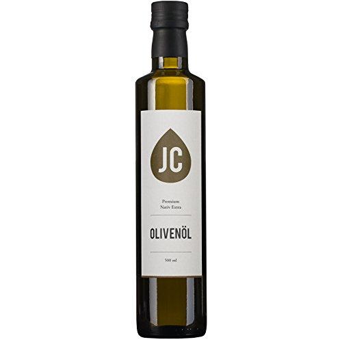 JC Olivenöl Nativ Extra - Premium Qualität - Kalamata PDO in 3 Größen - 500ml