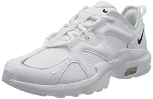 Nike AIR Max GRAVITON Lea, Chaussures de Trail Homme, Multicolore Blanc Noir Blanc 100, 44 EU