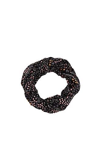 ESPRIT Accessoires Damen 990EA1Q310 Mode-Schal, 001/BLACK, Einheitsgröße