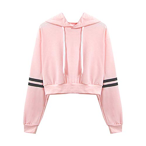 U/A Hoodies Womom Herbst und Winter H-Pop-Stil Kurze Sweatshirt Studentinnen mit Kapuze Zwei-Pfosten-Druckpullover