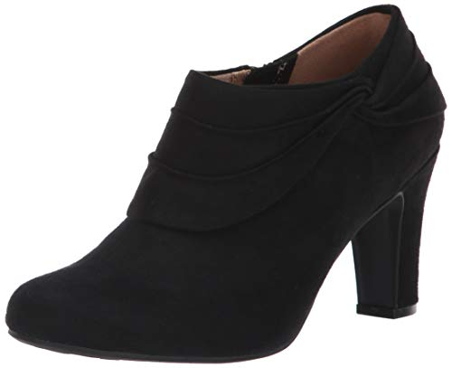 LifeStride womens Corie Ankle Boot, Black, 6.5 US