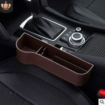 Fliyy Autositzlücken-Organizer, multifunktional mit Getränkehalter, Aufbewahrungsbox, Autotassenhalter Auto-Vordersitz-Organizer Handy-Halter