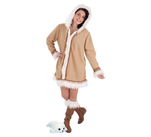LLOPIS  - Disfraz Adulto Esquimal Mujer