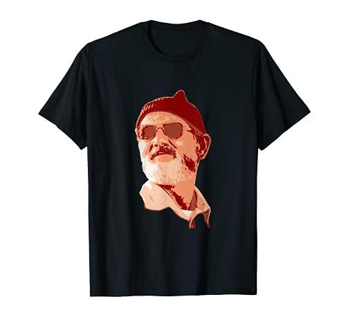 Bill Murray Zissouu Camiseta
