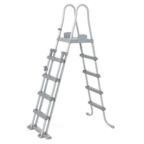 Bestway 58332 - Escalera para Piscina Desmontable 132 cm