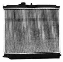Price comparison product image TYC 2707 Compatible with CHEVROLET Colorado 1-Row Plastic Aluminum Replacement Radiator