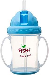 Little Fish 298 Plastic Baby Cup - Light Blue