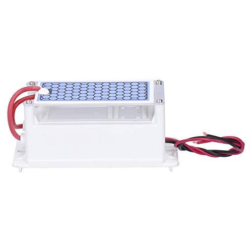 Generador de ozono Placa de cerámica Limpiador de aire más fresco Limpiador de aire Generador de ozono Purificador de aire Desodorizador Esterilizador 5G(220 V)
