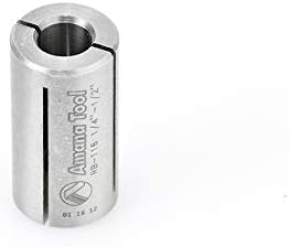 Max 55% OFF Amana Tool - RB-116 High Precision 1 Steel Router Reducer Collet Animer and price revision