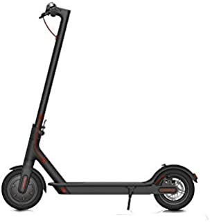 Electric Xiaomi Mijia Kickscooter m365 - High Performance, Portable, Cruise Control, Shock Absorption, App Connect, Makes Commute Easy, Fun & Affordable , Black