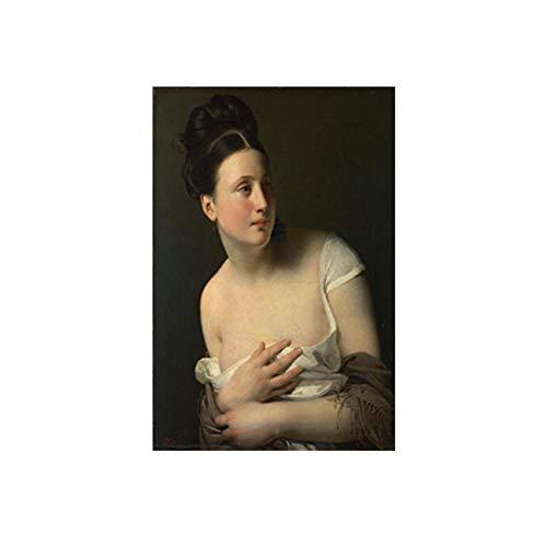 Leinwand Druck Plakat Wandkunst Renaissance Bilder Frauen Porträts Leinwand Ölgemälde Poster Und...