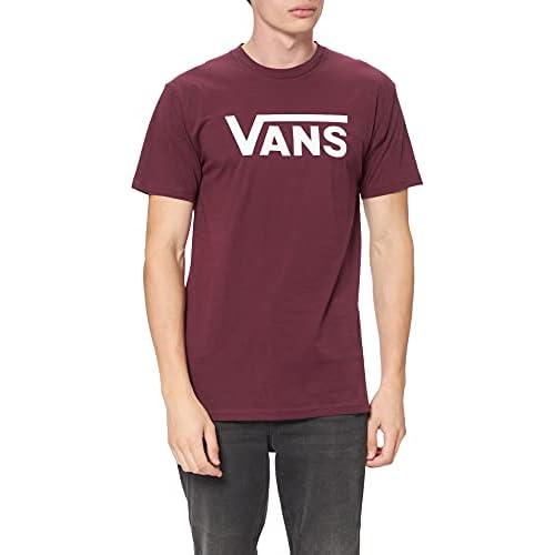 Vans Classic T-Shirt, Rosso (Port Royale/White K1o), Medium Uomo