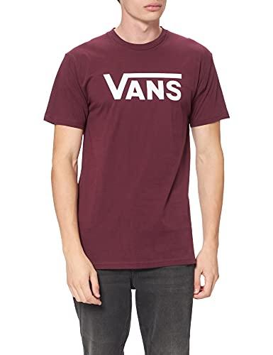 Vans Classic Camiseta, Rojo (Port Royale/White K1o), Medium para Hombre