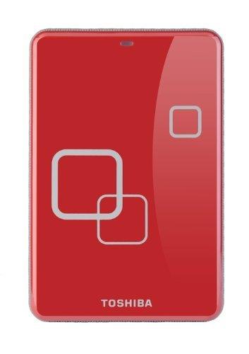 Toshiba E05A050PAU2ER_C 500 GB externe Festplatte (6.4 cm (2.5 Zoll), 5400 rpm, 8MB Cache, USB) rot