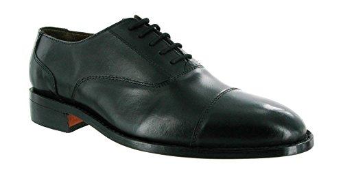 Amblers James Leather Soled Shoe Black Size 6