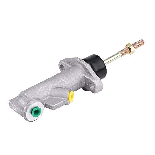 DEWIN Freno a Mano Idraulico - Pompa Freno Auto Cilindro principale della frizione del freno dell'auto in lega di alluminio 0,75 Foro remoto per freno a mano idraulico idraulico