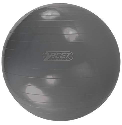 Best Sporting gymnastiekbal 65-75-85 cm, blauw, rood of antraciet