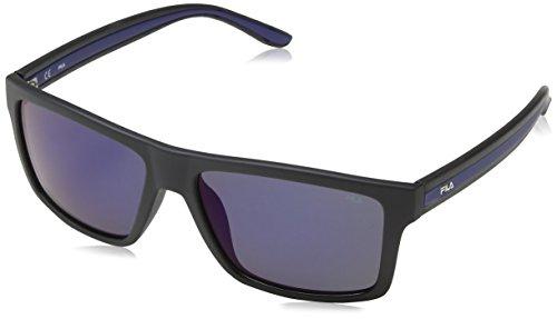 Fila SF898256U28B Gafas, MATT BLACK, 56/16/145 Unisex Adulto