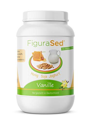 FiguraSed - miel - soja - yogur - vainilla - sustitución de comidas proteína - batido de proteínas 500 g - desarrollado por médicos y expertos en nutrición de VITACONCEPT