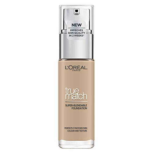 L'Oréal Paris True Match Foundation 2.N Vanilla - L'Oréal Foundation met Hyaluronzuur & Natuurlijke Dekking, met SPF 17-30 ml (Perfect Match), 2.N Vanille