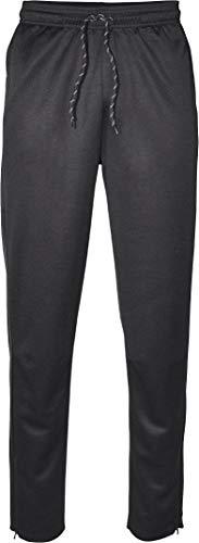 Crivit® Herren Sporthose Funktionshose, lang, mit YKK Reißverschluss am Beinabschluss (Gr. M 48/50, schwarz)