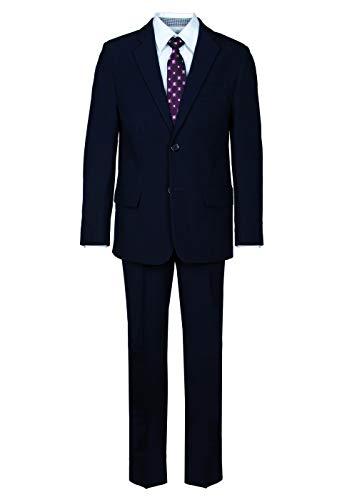 Jungen Bekleidungsset 4-TLG. Anzug, bestehend aus Sakko, Hose, Hemd, Krawatte, Blau (deep Navy), Größe 140