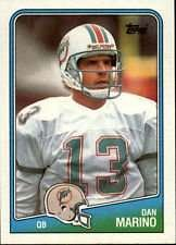 Dan Marino 1988 Topps Football Card #190
