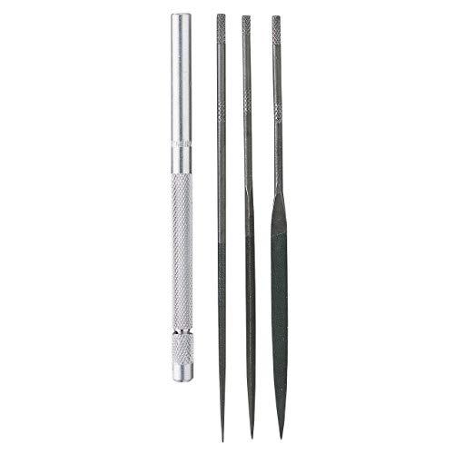 General S477 4 Piece Swiss Pattern Needle File Set