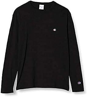 [チャンピオン] ロングTシャツ 長袖Tシャツ 綿100% 定番 ワンポイントロゴ刺繍 ロングスリーブTシャツ C3-P401 メンズ