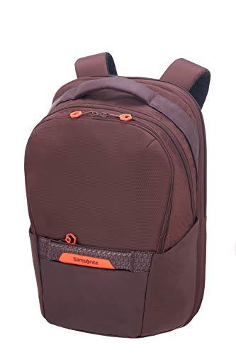 Samsonite Hexa-Packs - Laptop Backpack Medium Expandable - Work Rucksack, 48 cm, 25 Liter, Aubergine