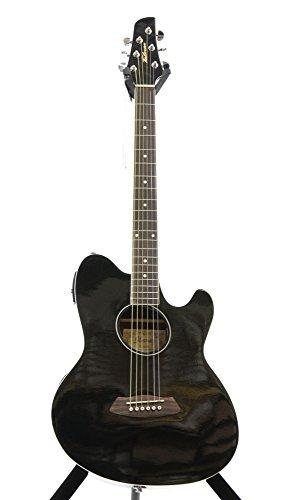 Ibanez Talman TCY10 Acoustic-Electric Guitar Black