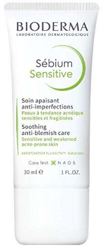 Bioderma Sebium Sensitive Soothing Anti-Blemish Care 30Ml