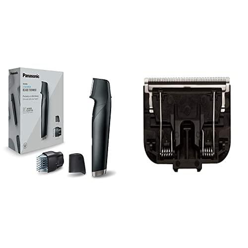Panasonic ER-GD51-K503 Recortadora de Barba Recargable para hombre, Negro + Panasonic Wer9500 Recambio Rasadura Corporal