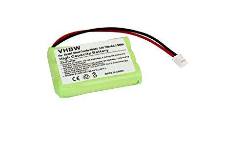 vhbw BATERÍA 700mAh (3.6V) compatible con