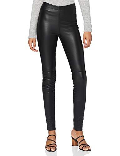 Oakwood Damen Slim Legging 60438, schwarz, 36 (Herstellergröße: 8)