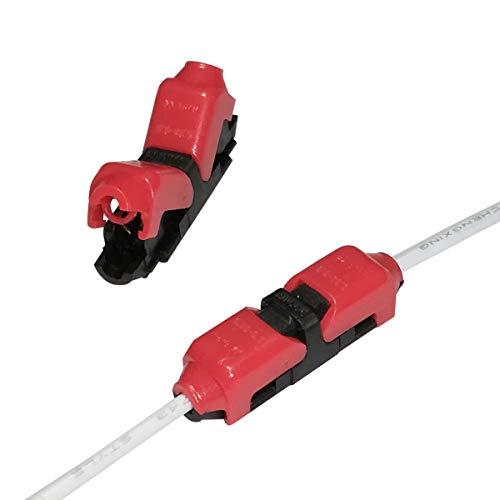 Empalmador rápido de cables Alightings sin necesidad de pelarlos. Compatible con cables de entre 22 y 20 AWG para usos automotrices ajustados