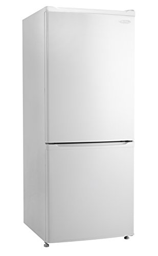 Danby DFF092C1WDB 9.2 Cu.Ft. Bottom Mount Refrigerator, Energy Star-Rated Apartment Fridge with Smudge-Free Stainless Look