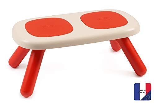 Smoby Panca per Bambini, Colore: Rosso