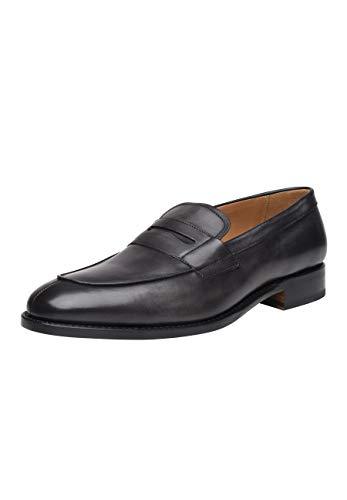 SHOEPASSION - No. 5296 - Loafer - Exklusiver Business- oder Freizeitschuh für Herren mit einzigartigem Design Dank Handfinish. Rahmengenäht und handgefertigt.