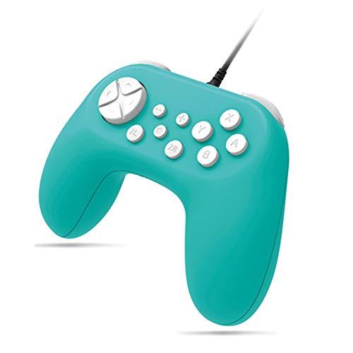 Switch console poignée câblée NS gamepad avec fonction de vibration moteur monture unique