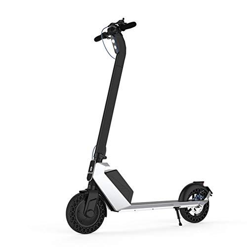 Vespa Eléctrica Plegable 350W del Motor, hasta 25 Km/H, Carga Máxima 150 Kg, 8,5 Pulgadas Pneumatic Tire, Scooter E para Adultos Y Adolescentes