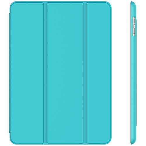 JETech Hülle Kompatibel Apple iPad (9,7 Zoll, Modell 2018/2017, 6. / 5. Generation), Intelligent Schutzhülle mit Auto Schlafen/Wachen, Blau