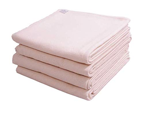 Iyengar - Juego de 4 mantas de yoga de algodón para yoga (tejido a mano)
