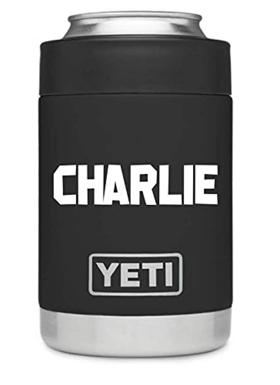 Custom YETI Colster, (ALL COLORS AVAILABLE) Personalized YETI Rambler Colster, Custom YETI Groomsmen Gift, Father's Day Gift