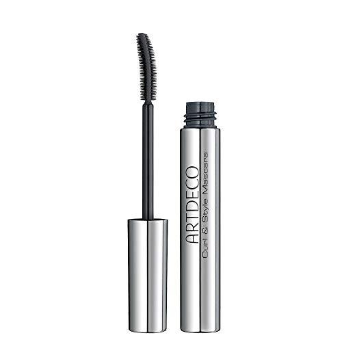 ARTDECO Curl & Style Mascara – Schwarze Wimperntusche für Schwung und Definition – 1 x 8 ml