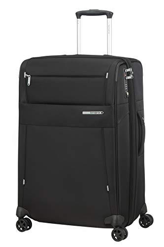 Samsonite Duopack Luggage Suitcase, M (67 cm - 91 L), Black (Black) (Black) - 128594-KA1-1041