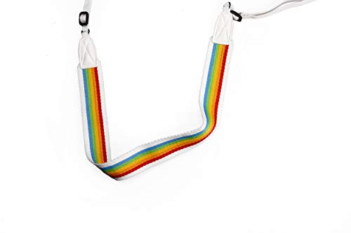 Polaroid - 6054 - Correa para cámara plana – Gris arco iris
